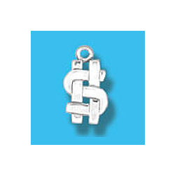 Dollar Sign Necklace Charm