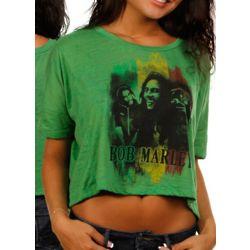 Bob Marley Cropped T-Shirt