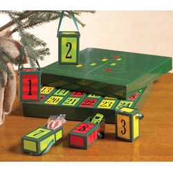 Countdown to Christmas Matchbox Advent Calendar