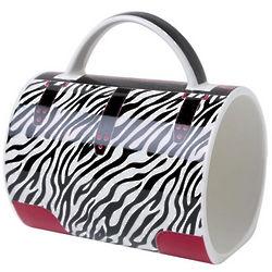 Zebra Sassy Handbag Mug