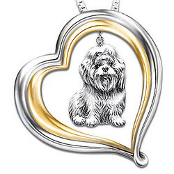 Loyal Companion Dog Lover Shih Tzu Pendant