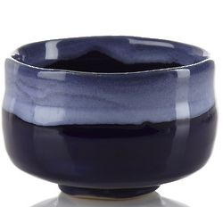 Blue Reactive Glaze Matcha Bowl