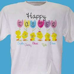 Happy Easter Personalized T-Shirt