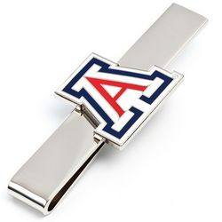 University of Arizona Silver-Tone Tie Bar