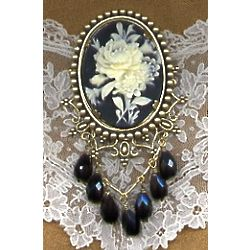 Victorian Floral Brooch