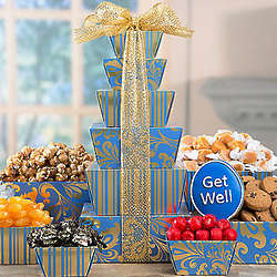 Get Well Wishes Gift Tower