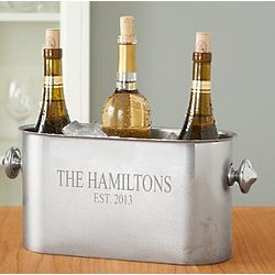 Personalized Stainless Steel Multi Bottle Wine Chiller