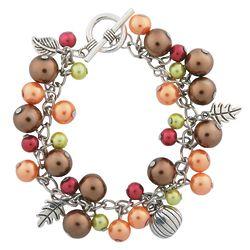 Fall Pearl Charm Bracelet Craft Kit
