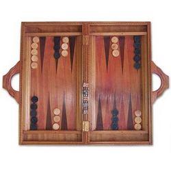 Inner Secrets Wood Backgammon Set