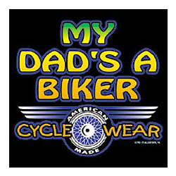 Dad's A Biker T-Shirt