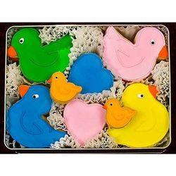Delightful Duckies Decorated Sugar Cookies