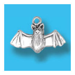 Bat Necklace Charm