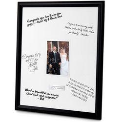 Black Signature Picture Frame