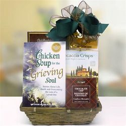 Chicken Soup for the Grieving Soul Gift Basket