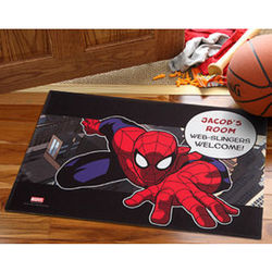 Personalized Spiderman Doormat