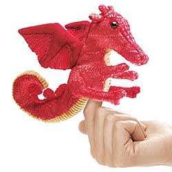 Blaze the Dragon Finger Puppet
