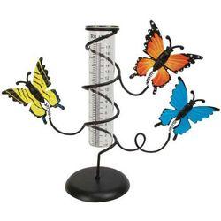 Butterfly Tabletop Rain Gauge