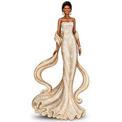 Michelle Obama Radiant Beauty Figurine
