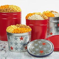 Patriotic 3-Flavor Popcorn Tin
