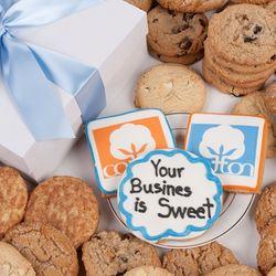 Customized Logo/Artwork Signature Cookie Gift Box