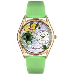 August Birthstone Hand-Crafted Watch