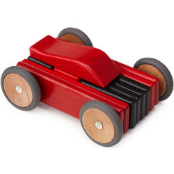Magnetic Wooden Car Set