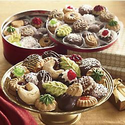 Holiday Cookies Gift Tin