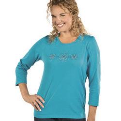 Women's Snowflake T-Shirt