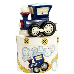 Personalized Mini Train Bank