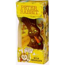 Peter Rabbit Hollow Milk Chocolate Easter Bunny