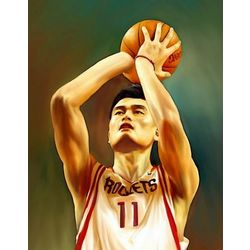 Yao Ming Pop Art Print