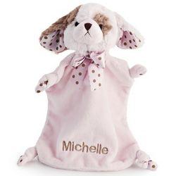 Pink Puppy Mini Blankie