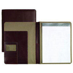 Tumbled Leather Letter Folio