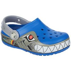 Boy's Crocslights Shark Clogs