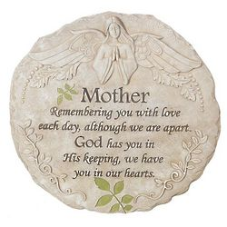 Loss Of Mother Memorial Garden Stone