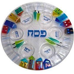 Scene of Jerusalem Seder Plate