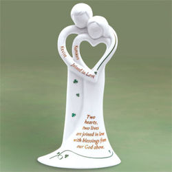 Personalized 'Joined in Love' Figurine