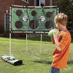 Football Toss Game Set