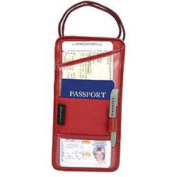 Travel Passport ID & Boarding Pass Holder
