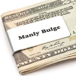 Manly Bulge Money Clip