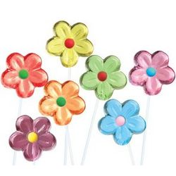 Flower Twinkle Lollipops
