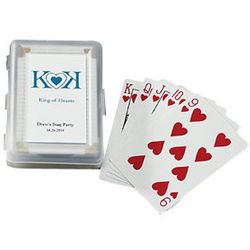 Personalized Playing Poker Cards