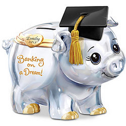 Banking on a Dream Graduation Personalized Piggy Bank