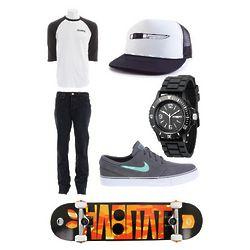 True Killer Skateboard Apparel Gift Set
