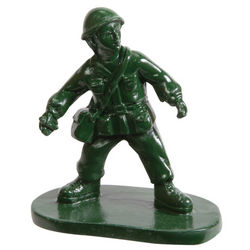 Soldier Aquarium Ornament