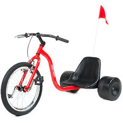 Red Hillkicker Pro Trike for Adults