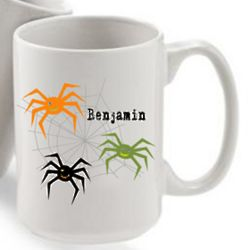 Personalized Halloween Coffee Mug