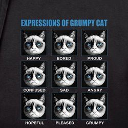 Expressions of Grumpy Cat T-Shirt