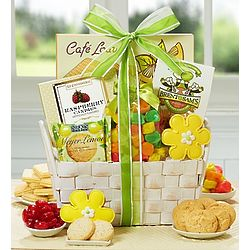 Spring Bliss Sweets Gift Basket