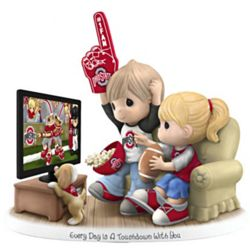 Every Day Is A Touchdown with You Ohio State Buckeyes Figurine